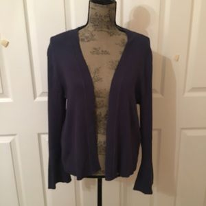 Sweaters - Blue sweater cardigan
